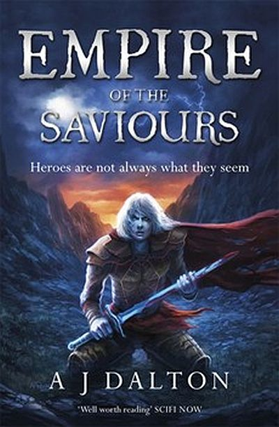 Cover The Empire of the Saviours englisch
