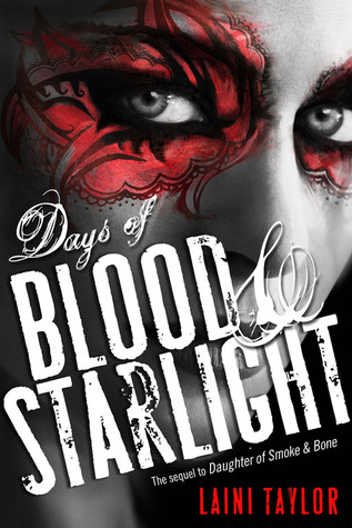Cover Days of Blood and Starlight Englisch