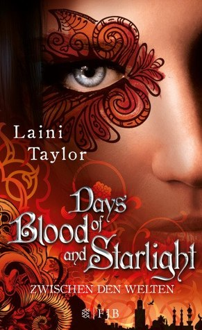 Cover Days of Blood and Starlight Deutsch