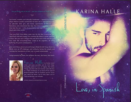 Buchjunkies Cover Enthullung Love In Spanish Von Karina Halle
