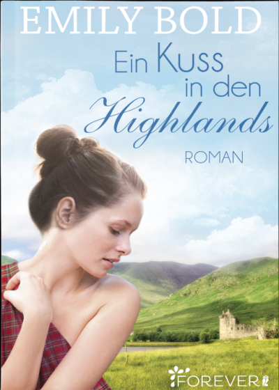 Cover Ein Kuss in den Highlands deutsch