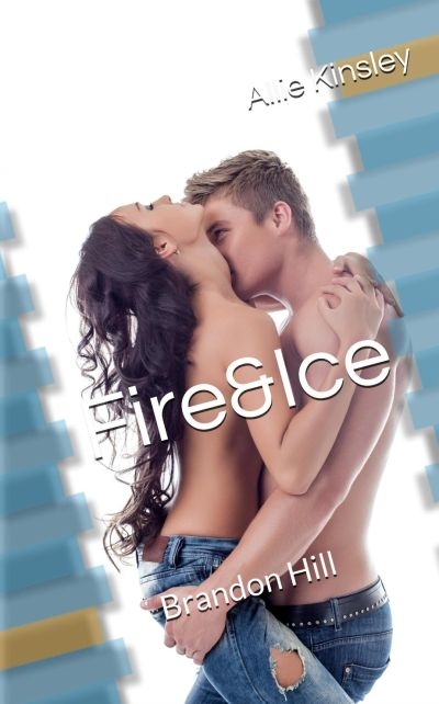 Cover Fire and Ice Brandon Hill deutsch