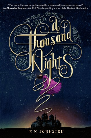 Cover A Thousand Nights Englisch