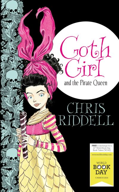 Cover Goth Girl and the Pirate Queen englisch