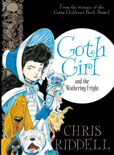 Cover Goth Girl and the Wuthering Fright englisch