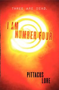 Cover I Am Number Four englisch