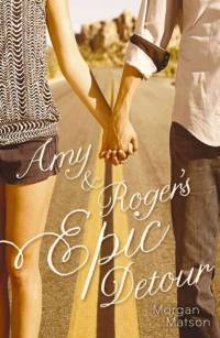 Cover Amy and Rogers Epic Detour englisch