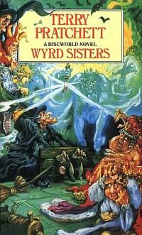 Cover Wyrd Sisters englisch