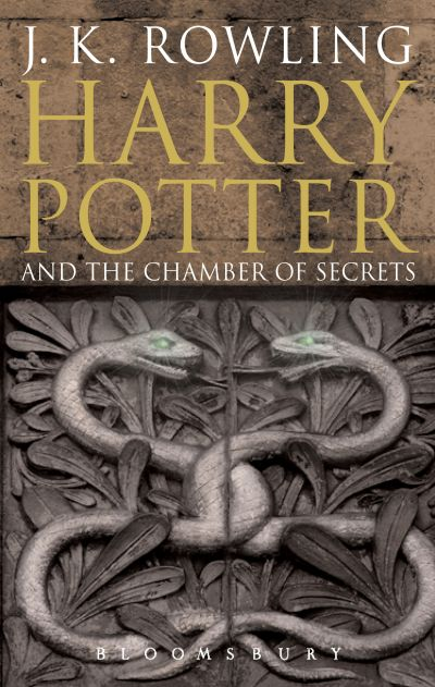 Cover Harry Potter and the Chamber of Secrets englisch