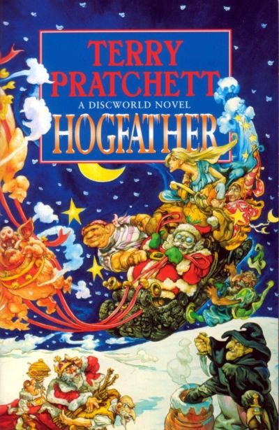 Cover Hogfather englisch