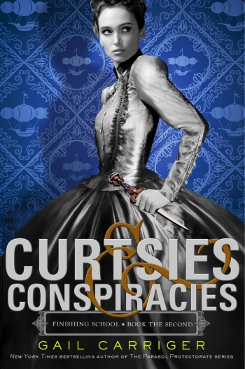 Cover Curtsies & Conspiracies englisch