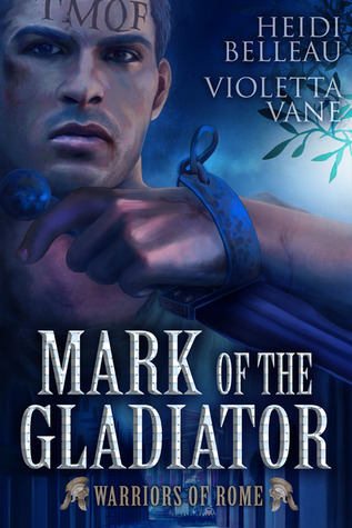 Cover Mark of the Gladiator Englisch