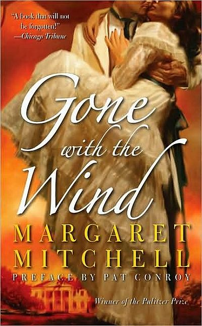 Cover Gone with the Wind Buch englisch