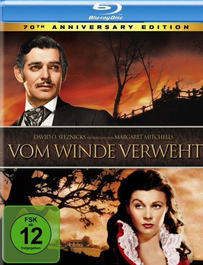 Cover Vom Winde verweht BluRay deutsch