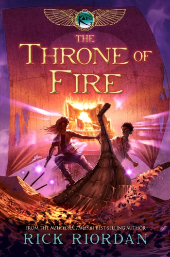 Cover The Throne of Fire englisch